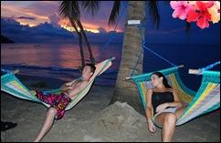 sunset at aninuan resort